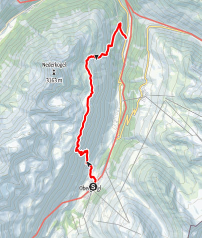 Map / Lake Nedersee