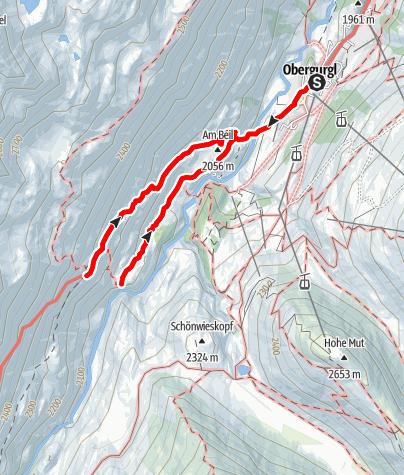 Karte / Beilstein - Ramolweg