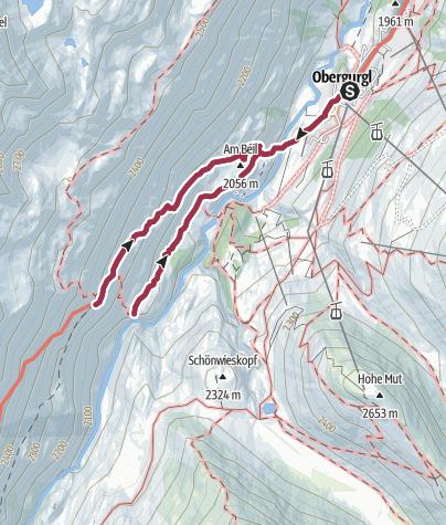 Map / Beilstein - Ramolweg