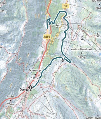 Map / Höhenweg Hochgurgl