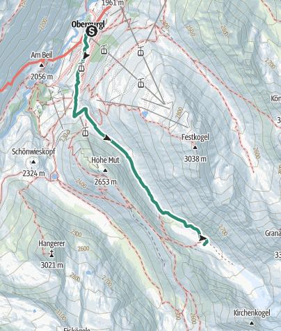 Map / Gaisbergferner