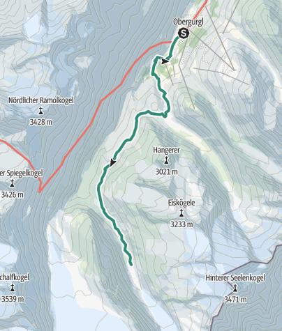 Map / Langtalferner