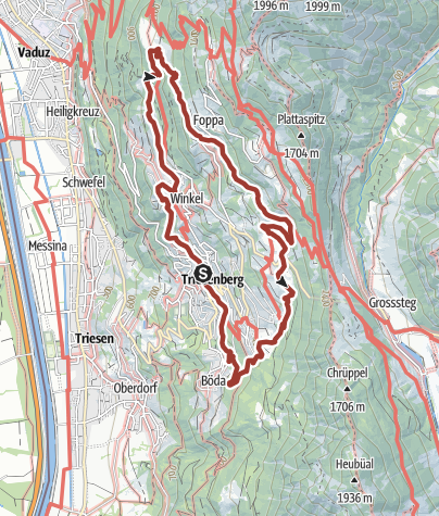 Map / WalserSagenWeg