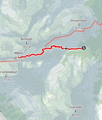 Karte / Wildgrat