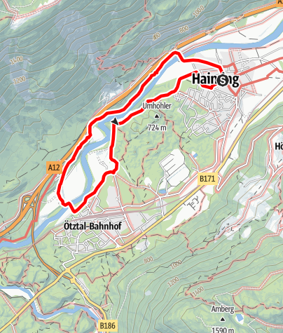 Karte / Bojenweg