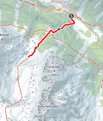 Map / Lake Pochersee