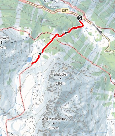Karte / Pochersee
