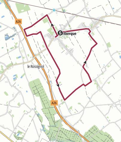 Map / 210202NORTKERQUE.ALAIN