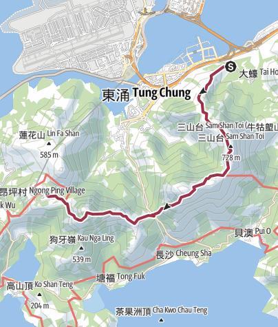 Map / Ox Race Virtual