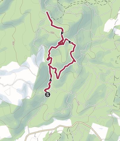 Map / Leñera-Vista Volcanes paso 1