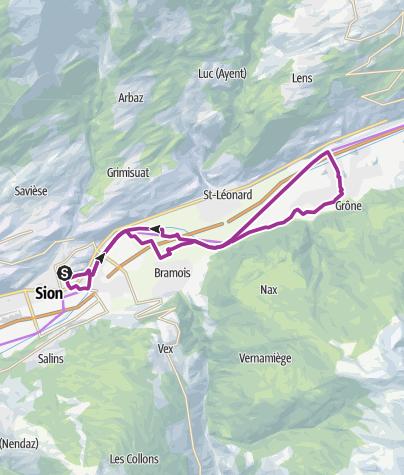 Carte / Nova Eroica Switzerland - Via Famiglia