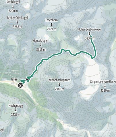Map / Hoher Seeblaskogel