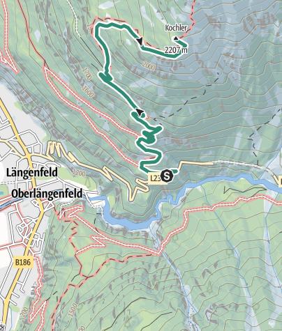 Carte / Kochler 2207m - Längenfeld/Gries