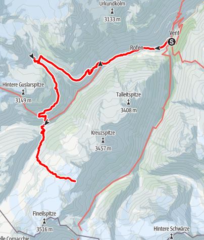 Karte / Saykogel