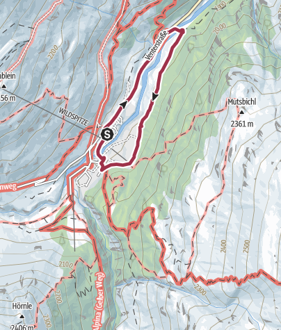 Map / Around Vent