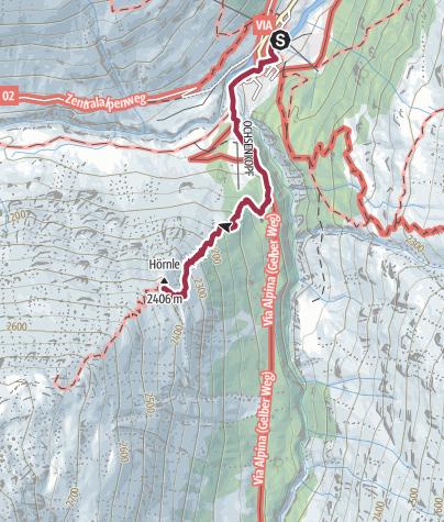 Mapa / Hörndle