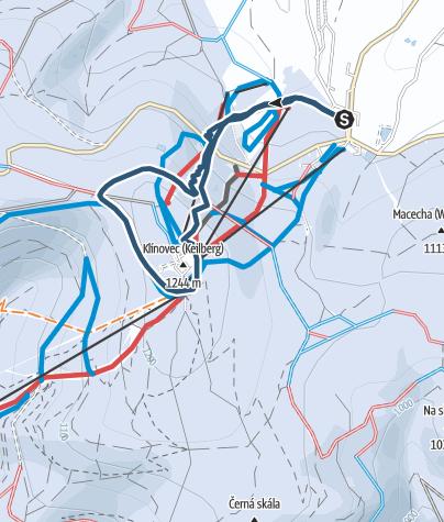 Map / Středeční večerní (areal mimo provoz)