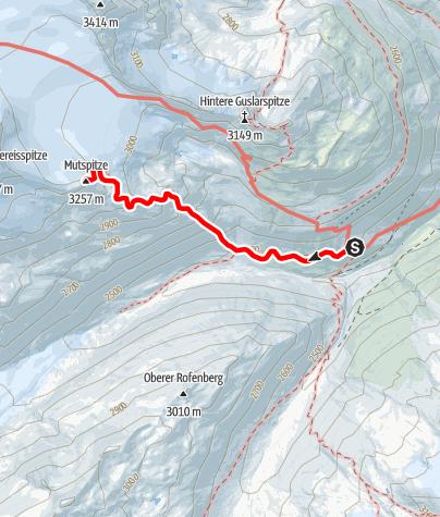 Map / Mutspitze