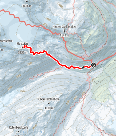Karte / Mutspitze