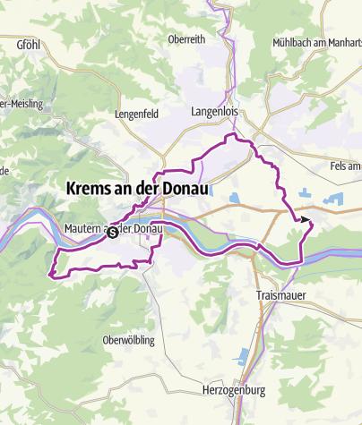 Karte / Vintage Tour Wachau 2021