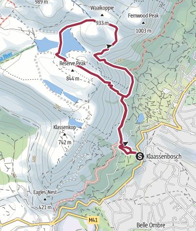 Map / ZA TM Ceclila Skeleton Aquaduct loop