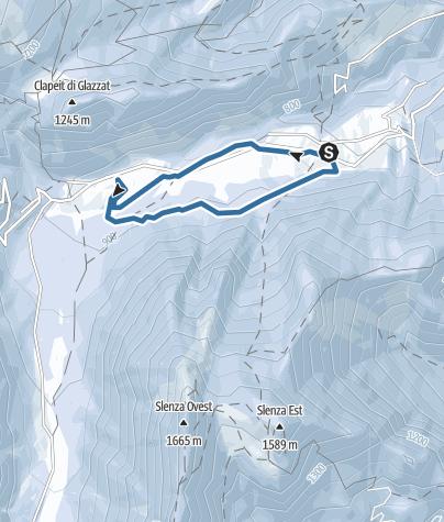 Map / PontebbaStudenaAnelloDellOrso