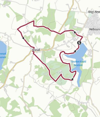 Map / Calke walk