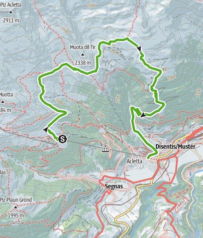 Karte / 677 Lag Serein - Lag Crest Ault