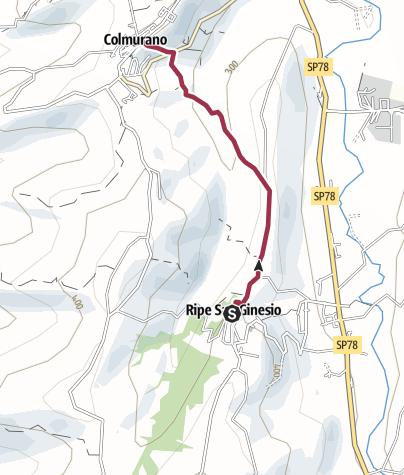 Map / Passeggiata del Vallenzuolo