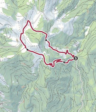 Map / un Tour du Petit Ballon