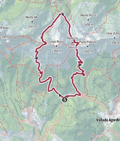 Map / Lach dei Negher