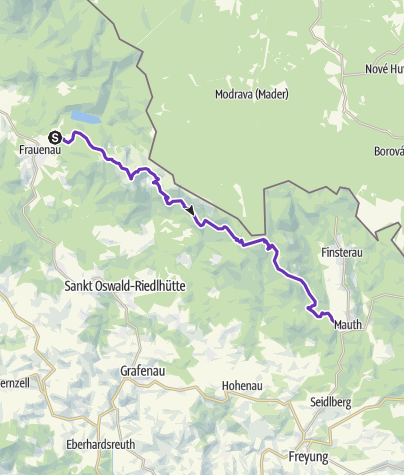 Map / Goldsteig Nordroute 4