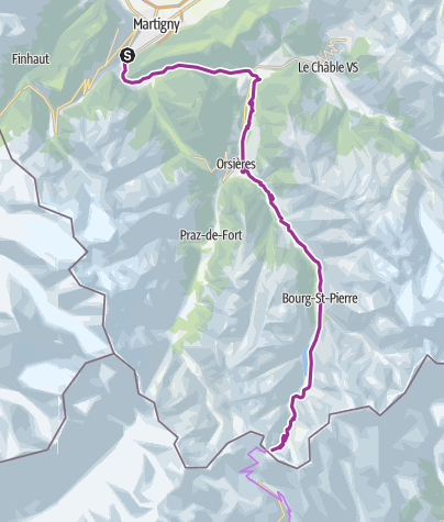 Alpenpässe Karte.Grosser Sankt Bernhard Mythische Alpenpässe Radtour