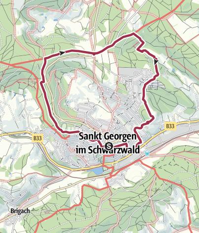 Map / St. Georgen - Rundwanderung über die Seebauernhöhe
