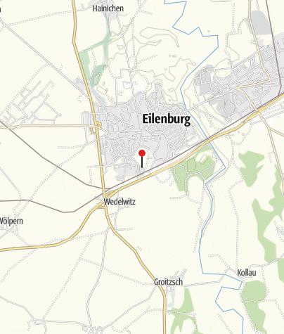 "Karte / Sternwarte ""Juri Gagarin"" Eilenburg"