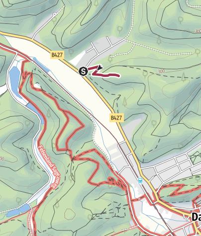 Karte / Zustieg - Rabensteine