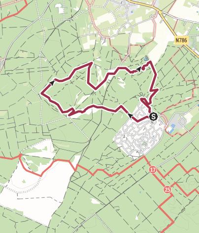 Mapa / Coldenhove: Groenouwe - de Molenbeek