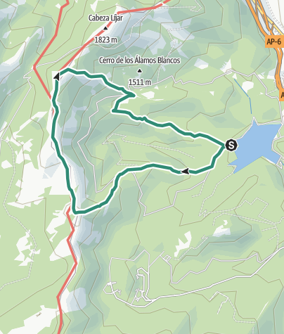 Map / Madrid Senderismo La Jarosa14 feb. 2021 a las 9:59