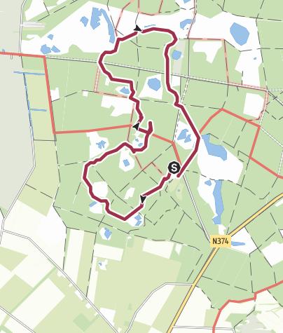 Map / Sprokkelpad Hart van Drenthe