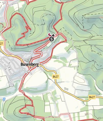 Karte / Zustieg - Eichelturm