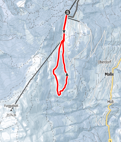 Map / Edelweissrundgang (Brambi-Weg)