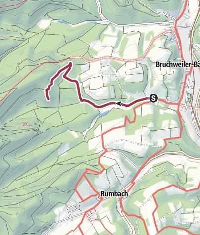 Karte / Zustieg - Beutelstein
