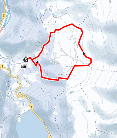 Map / Sur - Alp Flix