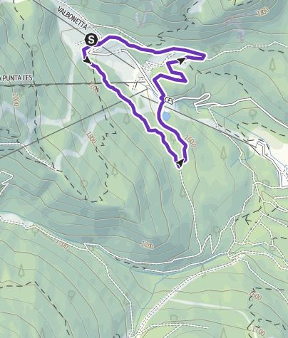 Karte / Running Ces