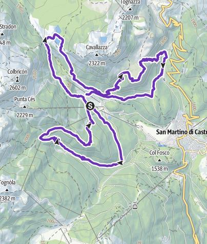 Karte / Ces Trail