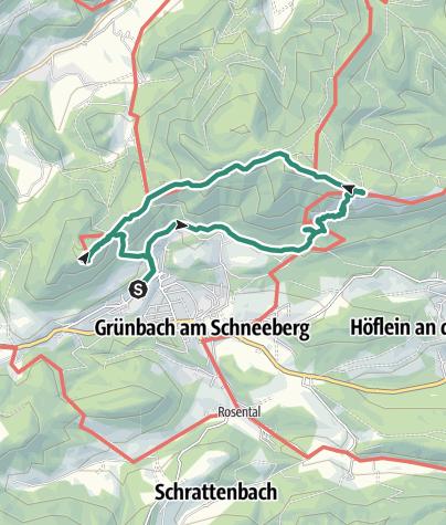 地图 / Bergtour am 27. Februar 2021 um 11:01