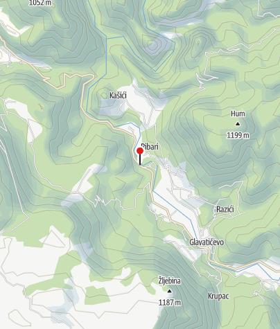Map / Hitko Rafting Neretva