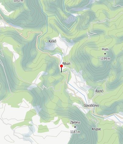 Map / Ban Vir Etno Village