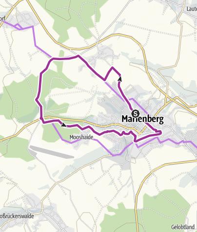 Bergbau Erzgebirge Karte.Rund Um Marienberg Bergbau Entdecken Radtour
