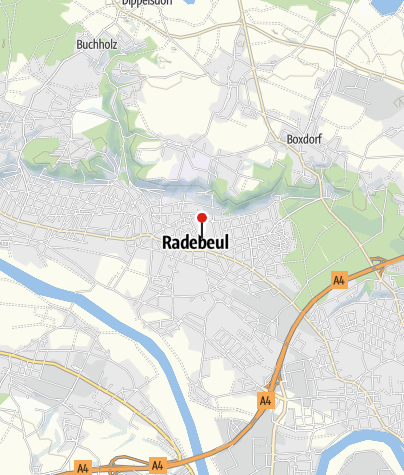 Karte / Radisson Blu Park Hotel & Conference Centre, Dresden Radebeul